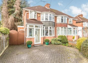 Thumbnail 3 bed semi-detached house for sale in Wells Road, Solihull