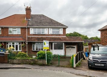 Thumbnail 3 bed semi-detached house for sale in South Crescent, Featherstone, Wolverhampton, Staffordshire