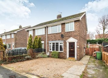 Thumbnail 3 bed semi-detached house for sale in Chestnut Drive, Holme On Spalding Moor