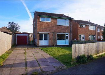 Thumbnail 3 bed detached house for sale in Raymond Avenue, Loughborough