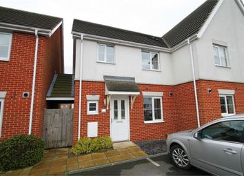 Thumbnail 3 bed semi-detached house for sale in Newman Drive, Kesgrave, Ipswich, Suffolk