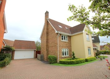 Thumbnail 6 bedroom detached house for sale in Willow Road, Dunmow