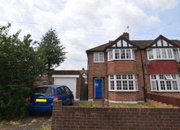 Thumbnail 3 bed semi-detached house for sale in Longlands Park Crescent, Sidcup