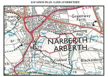 Thumbnail Land for sale in Land Known As De Rutzen Land, Tabernacle Lane, Narberth, Pembrokeshire