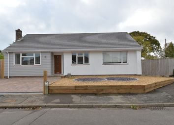 Greenfield Gardens, Barton On Sea, New Milton BH25. 3 bed detached bungalow for sale