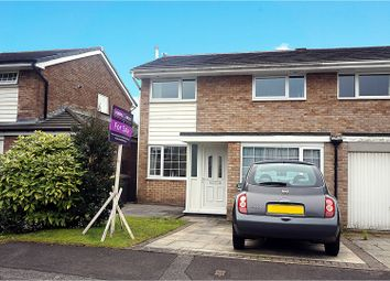 Thumbnail 3 bed semi-detached house for sale in Eskdale Close, Preston