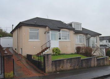 Thumbnail 2 bed semi-detached bungalow for sale in Ettrick Crescent, Rutherglen, Glasgow.