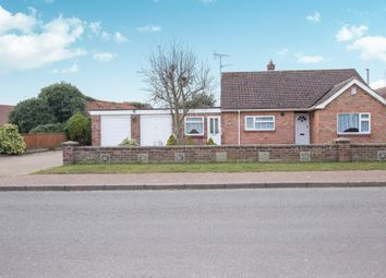 Thumbnail 2 bed detached bungalow for sale in Meadow Close, North Wootton, King's Lynn