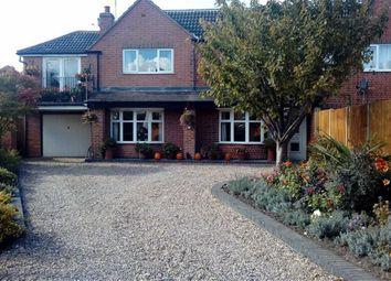 Thumbnail 5 bed semi-detached house for sale in Newbold Road, Barlestone, Nuneaton