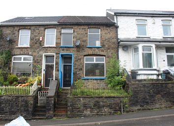 Thumbnail 3 bed terraced house to rent in Pleasant View, Tylorstown