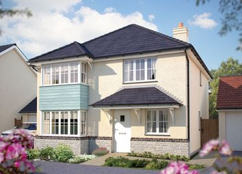 "Thumbnail 4 bed detached house for sale in ""The Canterbury"" at Humphry Davy Lane, Hayle"