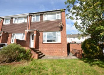 Thumbnail 3 bed end terrace house for sale in Addison Close, Exeter, Devon