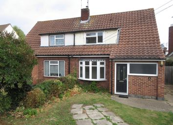 Thumbnail 3 bed property to rent in Southend Road, Hockley