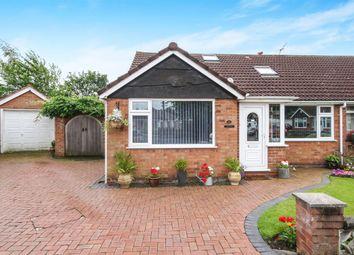 Thumbnail 4 bed semi-detached bungalow for sale in Coniston Close, Childer Thornton, Ellesmere Port