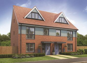 "Thumbnail 3 bedroom semi-detached house for sale in ""Plot 409 The Crofton At Merivale Place"" at The Vines, Upper Cambourne, Cambourne, Cambridge"