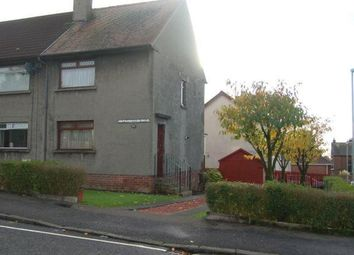 Thumbnail 2 bedroom end terrace house to rent in Mary Morrison Drive, Mauchline, East Ayrshire