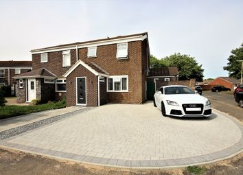 Thumbnail 3 bed semi-detached house for sale in Waveney Close, Lee-On-The-Solent