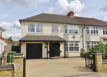 Thumbnail 4 bed semi-detached house for sale in Lyndhurst Road, Bexleyheath, Kent