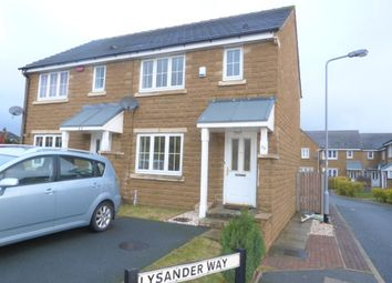Thumbnail 3 bed semi-detached house to rent in Lysander Way, Cottingley, Bingley