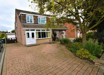 Thumbnail 3 bed semi-detached house for sale in Churchill Drive, Ruddington, Nottingham