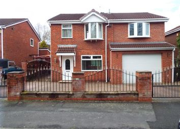 Thumbnail 4 bed detached house for sale in St. David's Drive, Callands, Warrington, Cheshire