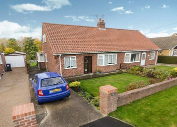 Thumbnail 2 bedroom semi-detached house for sale in Linden Close, Huntington, York