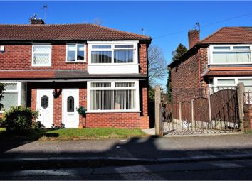 Thumbnail 3 bed terraced house for sale in Ledsham Avenue, Manchester