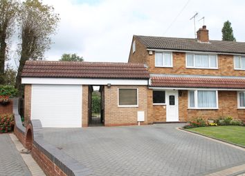 Thumbnail 3 bed semi-detached house for sale in Clinton Grove, Shirley, Solihull