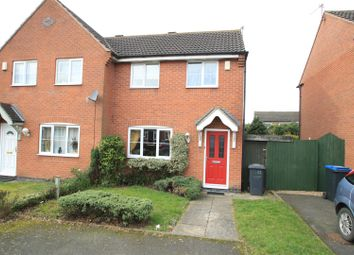 Thumbnail 1 bed semi-detached house to rent in Shoesmith Close, Barwell, Leicester