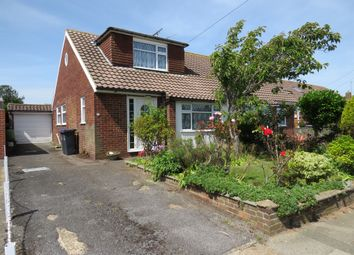 Thumbnail 2 bed bungalow for sale in Burnside Crescent, Sompting, Lancing
