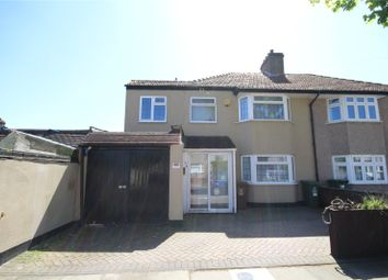 Thumbnail 4 bed semi-detached house for sale in Balliol Road, Welling, Kent