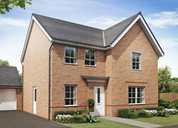 "Thumbnail 4 bedroom detached house for sale in ""Radleigh"" at Monkton Lane, Hebburn"