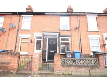 Thumbnail 3 bedroom terraced house to rent in Roseberry Road, Ipswich, Suffolk