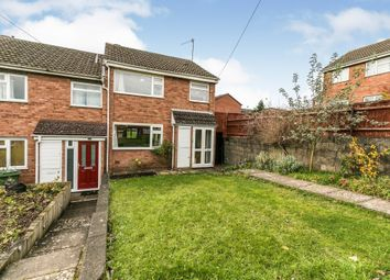Thumbnail End terrace house for sale in Keble Close, Worcester