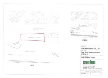 Thumbnail Land for sale in Land Adjacent To 6 Bowden Road, Garston, Liverpool