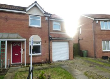 Thumbnail 4 bed semi-detached house for sale in Wasdale Close, Hartlepool