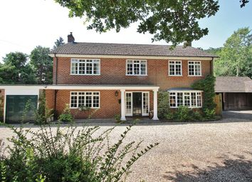 Thumbnail 4 bed detached house for sale in Windmill Lane, Midgham, Reading