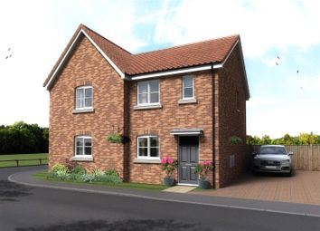 Thumbnail 2 bed semi-detached house for sale in Plot 61, The Cricketers, Holt Road, Horsford