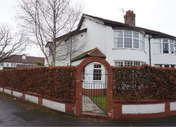 Thumbnail 3 bed semi-detached house for sale in Cedar Road, Gatley