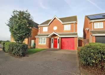 Thumbnail 4 bed detached house for sale in Brabazon Close, Shortstown, Bedford