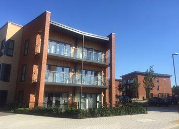 Thumbnail 2 bed flat for sale in Atlas Way, Oakgrove, Milton Keynes