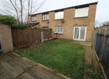 Thumbnail 2 bed semi-detached house for sale in Whitethorns, Newport Pagnell, Buckinghamshire