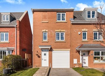 Thumbnail 3 bedroom semi-detached house for sale in The Laurels, New Forest Village, Leeds