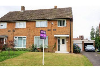 Thumbnail 3 bed semi-detached house for sale in Church Crescent, Moortown
