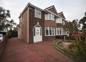 Thumbnail 3 bed semi-detached house for sale in Lincoln Avenue, Stretford, Manchester