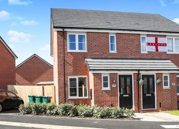 Thumbnail 2 bed semi-detached house for sale in John Brooks Gardens, Holbrooks, Coventry, West Midlands