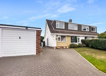4 bed semi-detached house for sale in South Western Crescent, Whitecliff, Poole, Dorset BH14