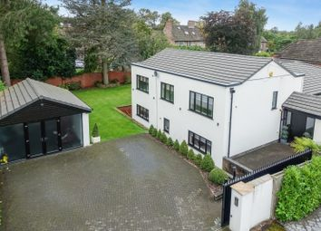 Thumbnail 5 bed detached house for sale in Lyndhurst Drive, Hale, Altrincham