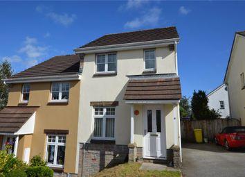 Thumbnail 2 bed semi-detached house for sale in Boveway Drive, Liskeard, Cornwall