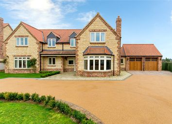 Thumbnail 4 bed detached house for sale in Fir Tree Lane, Sudbrook, Grantham